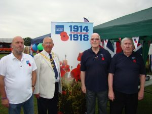 Royal British Legion at Town Show